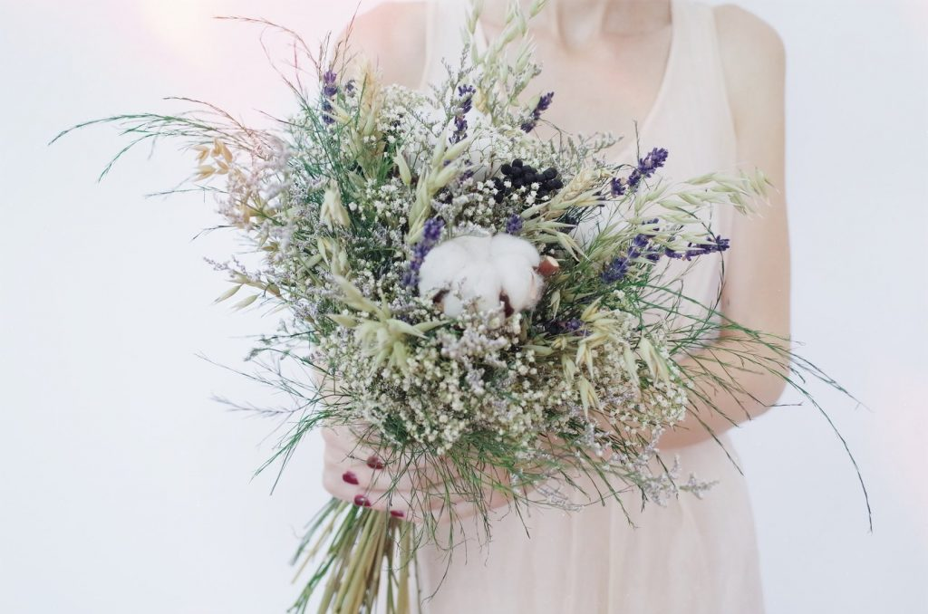 everlasting dried flowers