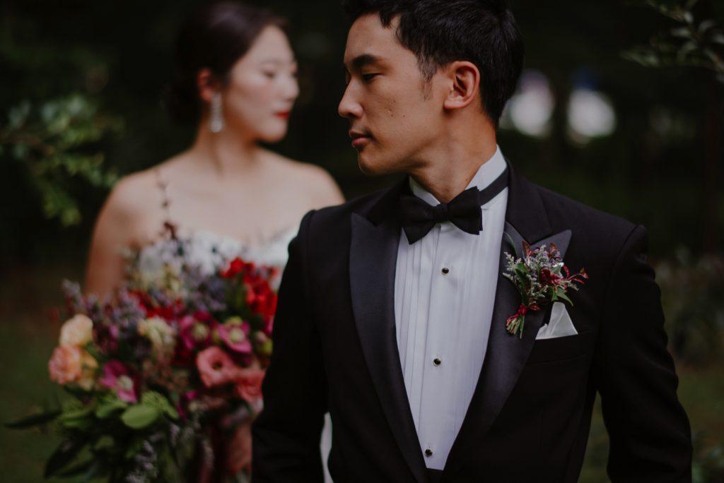 wedding photoshoot tropical renaissance