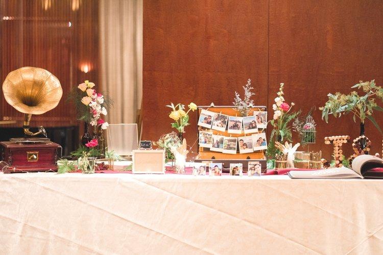 vintage-inspired wedding