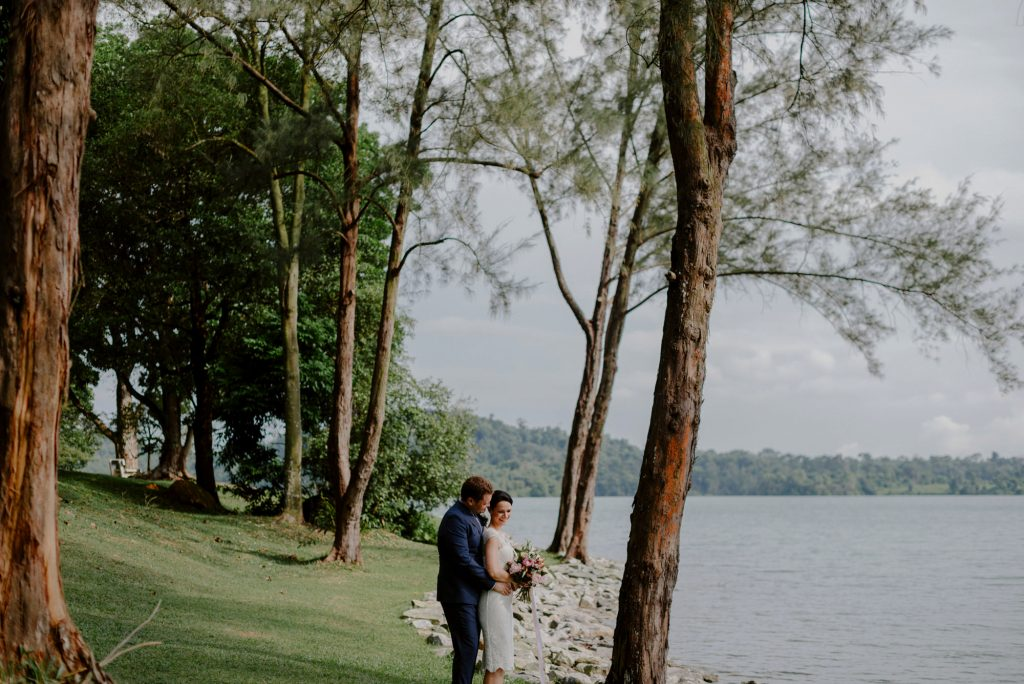 Urban Island Elopement wedding