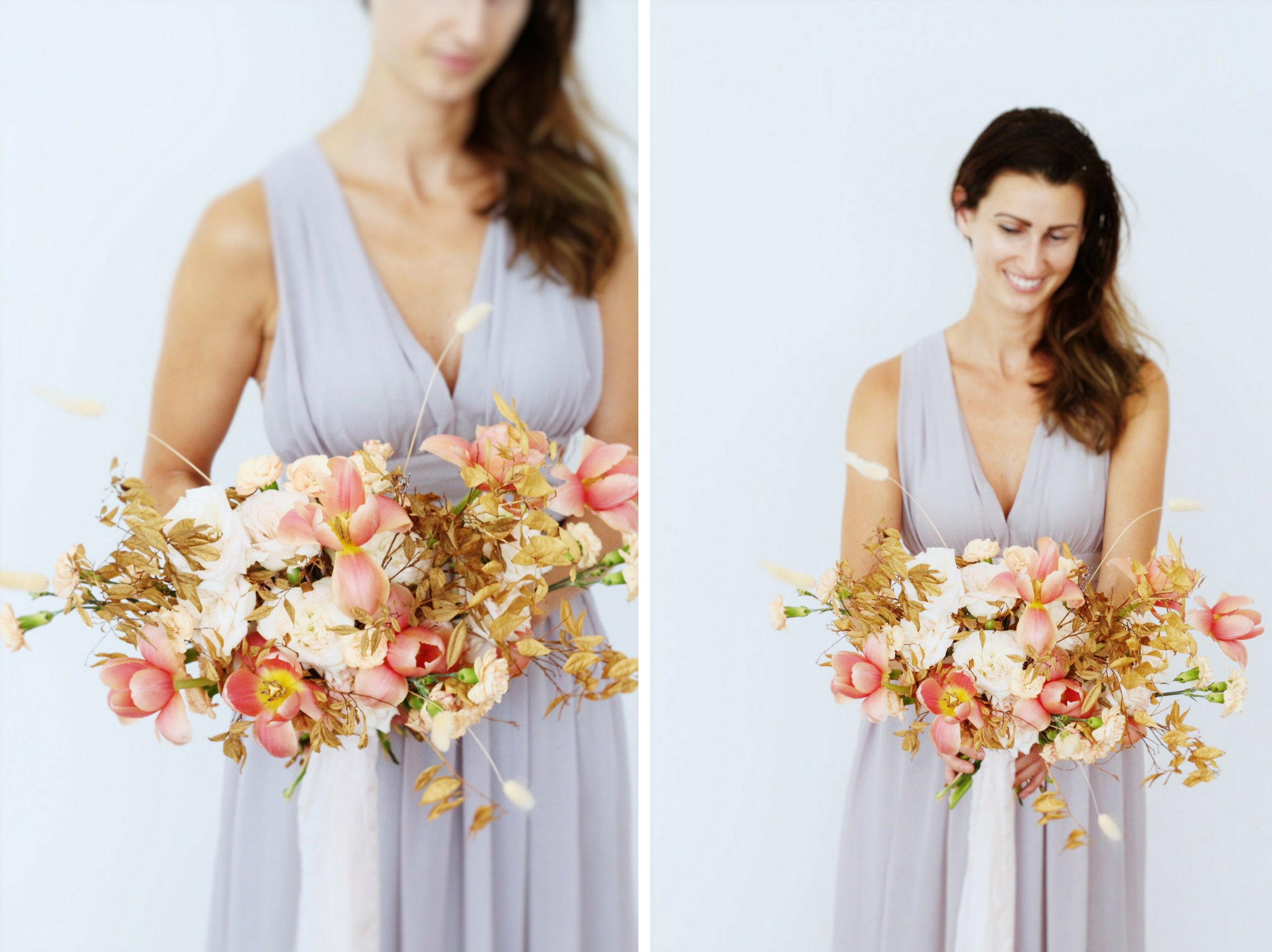 Coral+Copper Styled Shoot