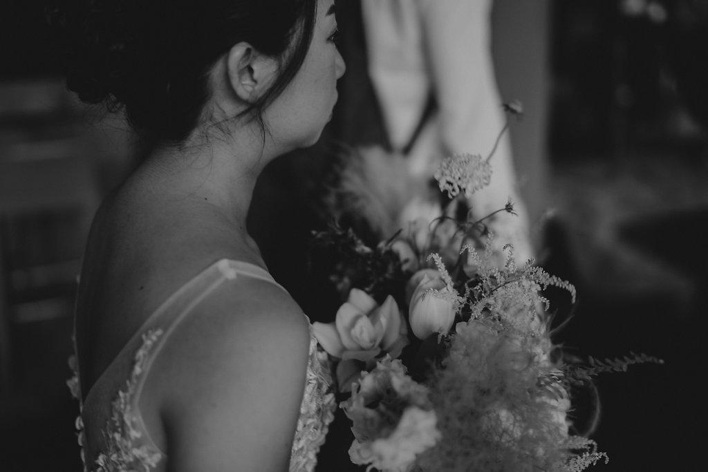 whites greens wedding