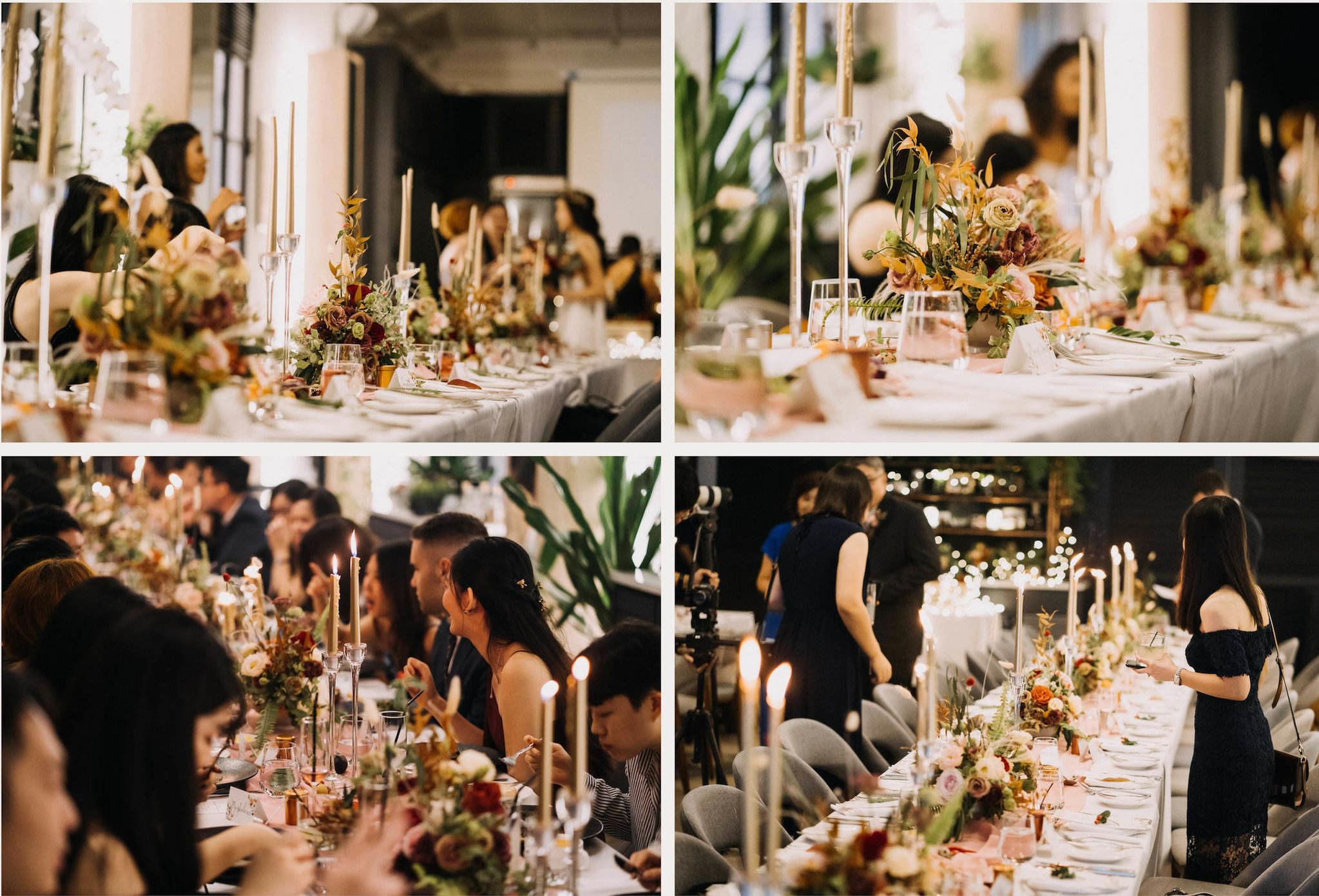 gathered+styled wedding