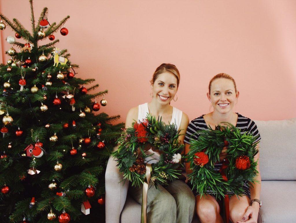xmas wreath workshop gns