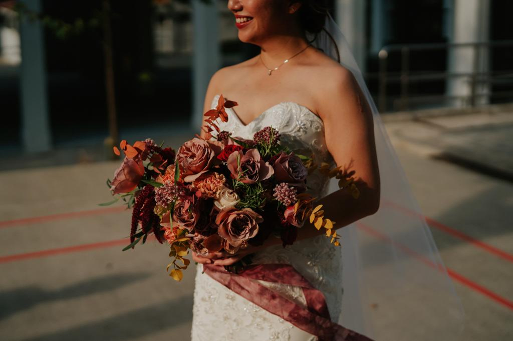 autumn harvest wedding