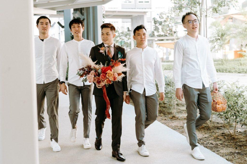 muted earthy wedding