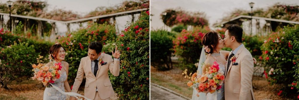 living coral wedding